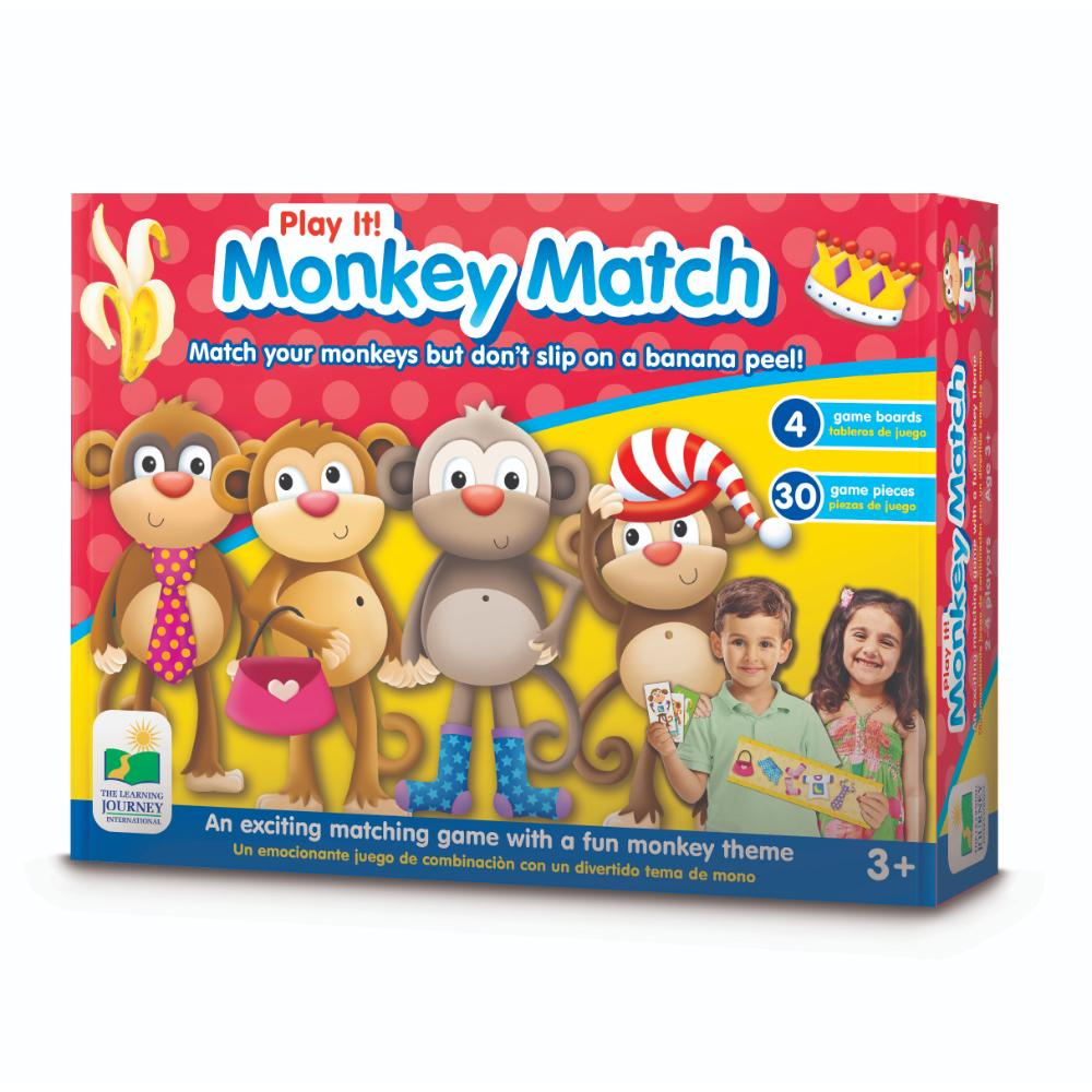 The Learning Journey Play It! Game - Monkey Match (New)