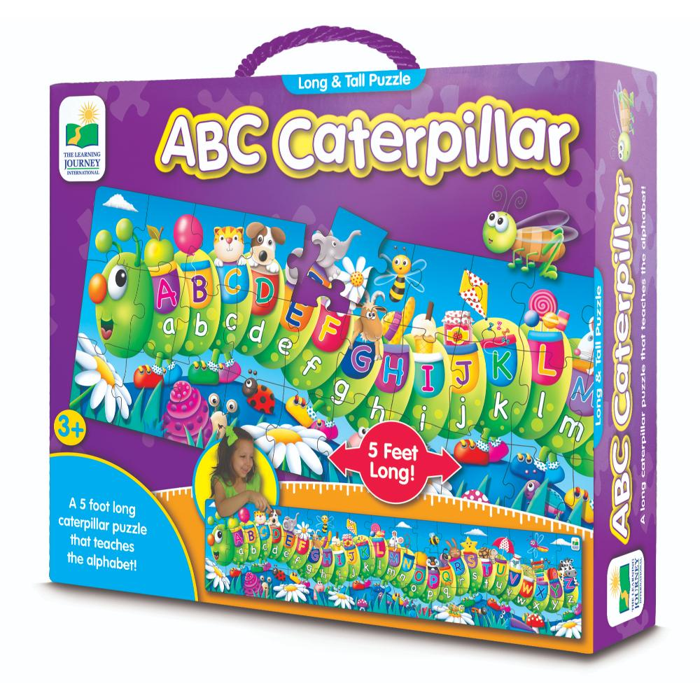 The Learning Journey Long & Tall Puzzles - Abc Caterpillar