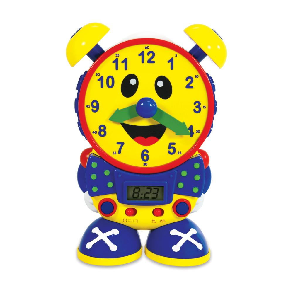 The Learning Journey Telly The Teaching Time Clock (Primary Color Design)  Image#1