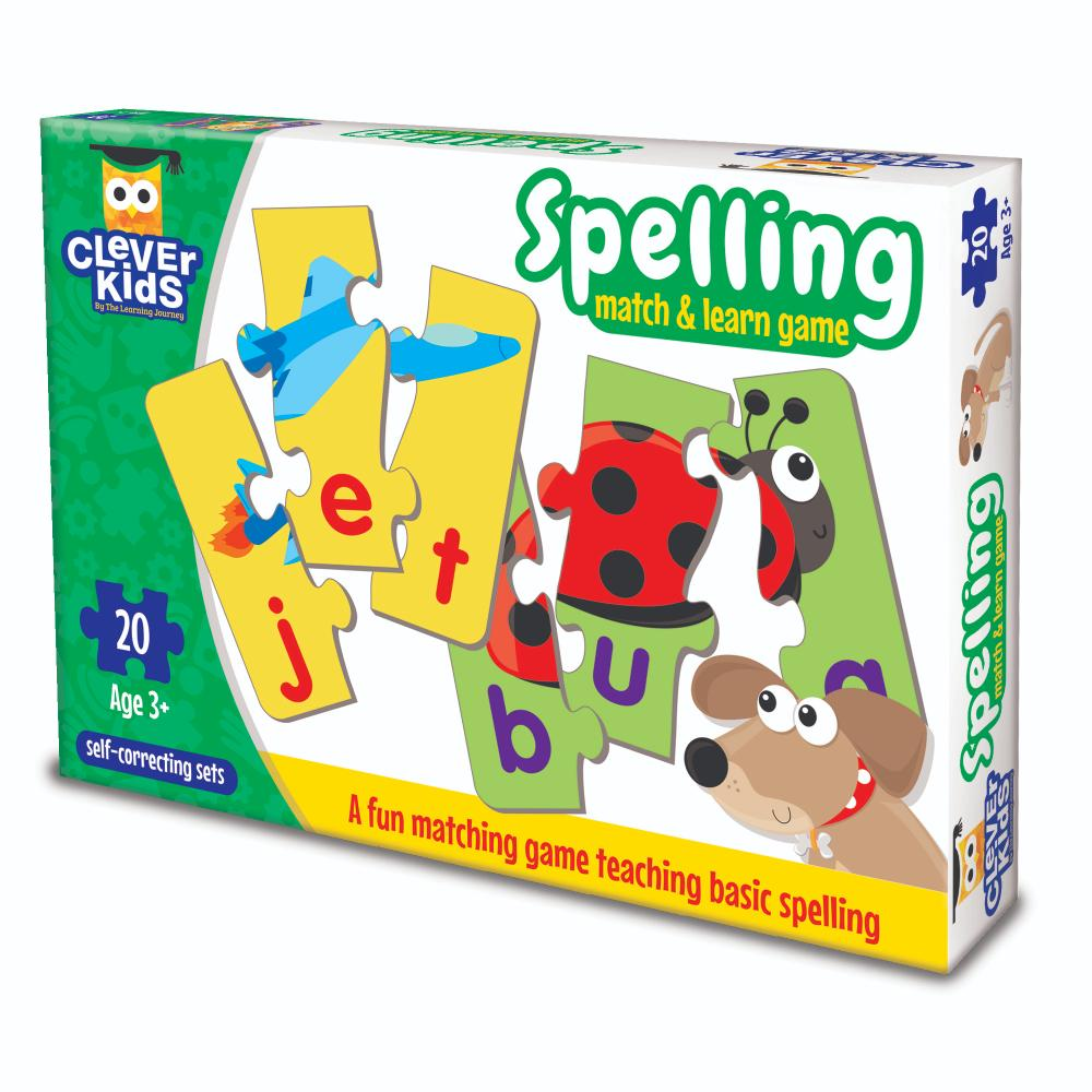 The Learning Journey Match & Learn Spelling