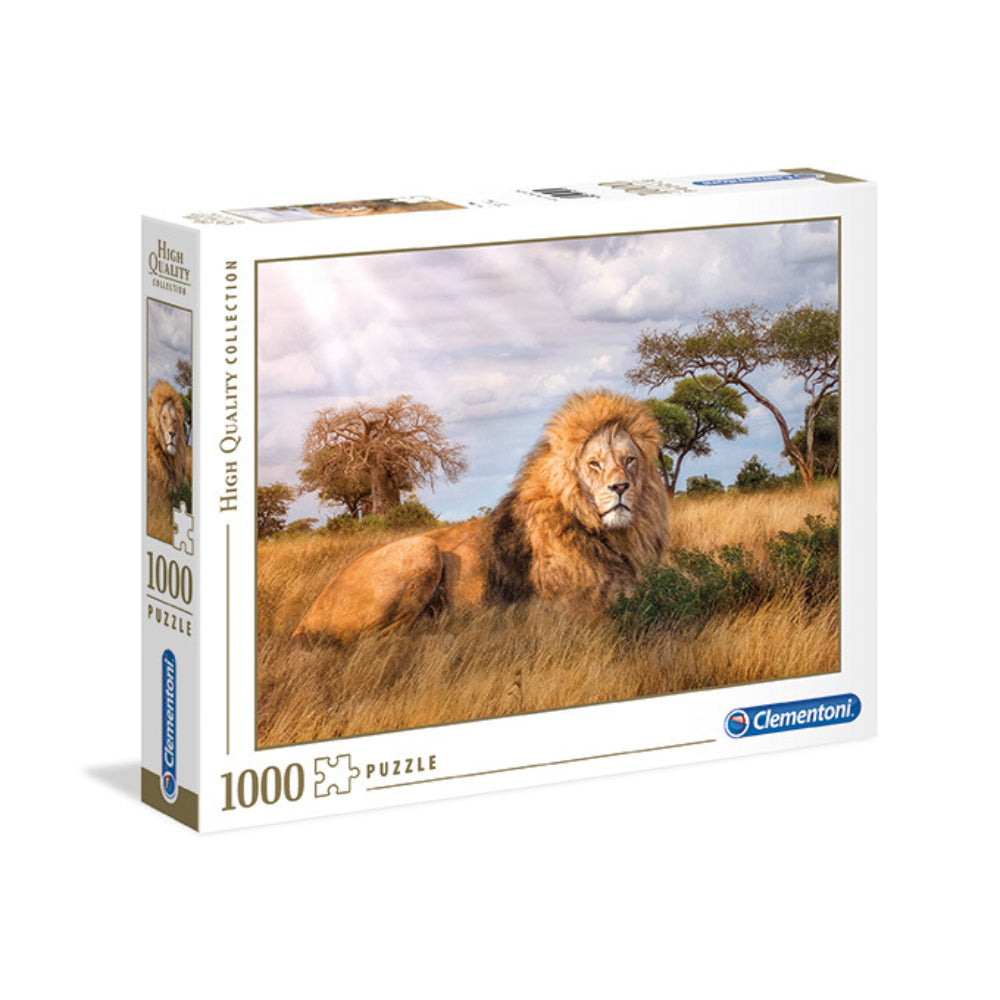 Clementoni Adult Puzzle The King Of Forest Lione 1000Pcs