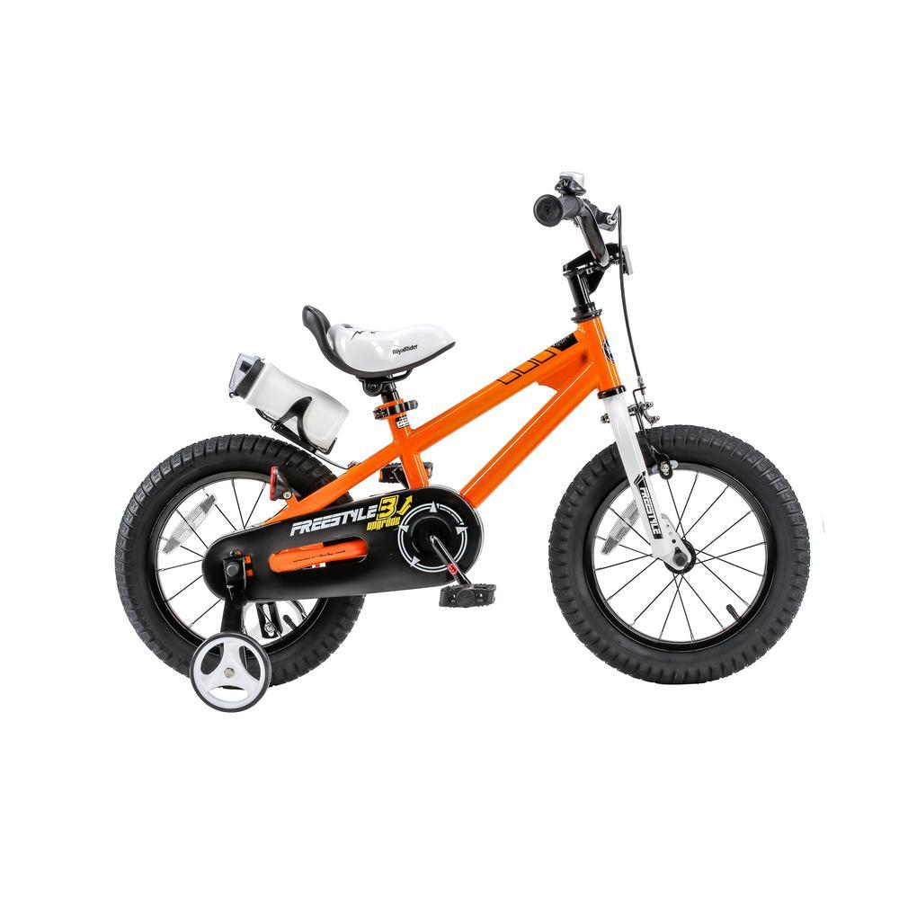 Royal Baby Freestyle Bicycle 12In-Orange