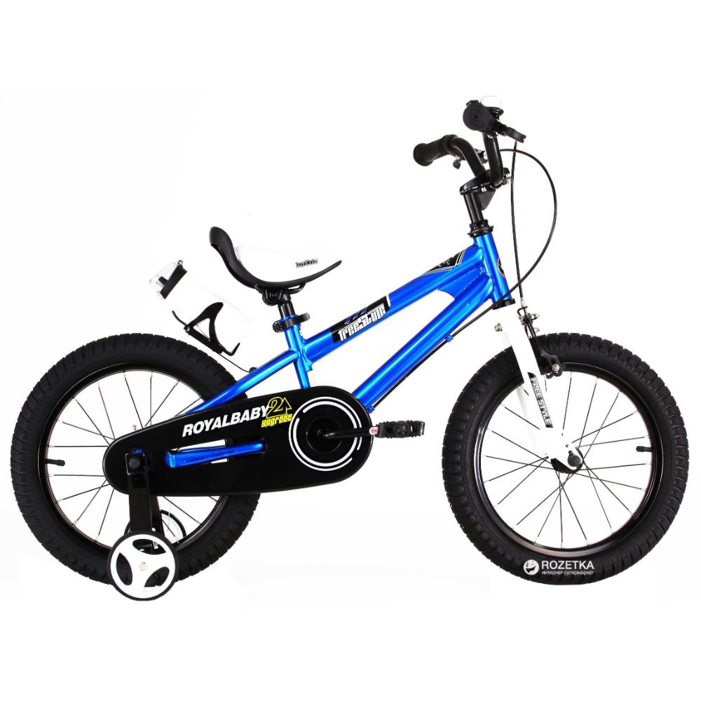 Royal Baby Freestyle Bicycle 16In-Blue