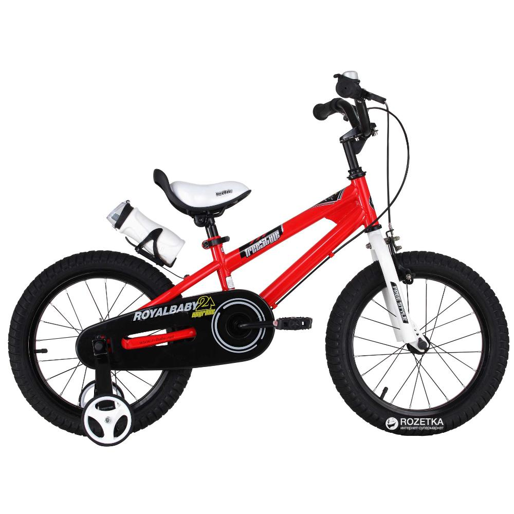 Royal Baby Freestyle Bicycle 18In-Red