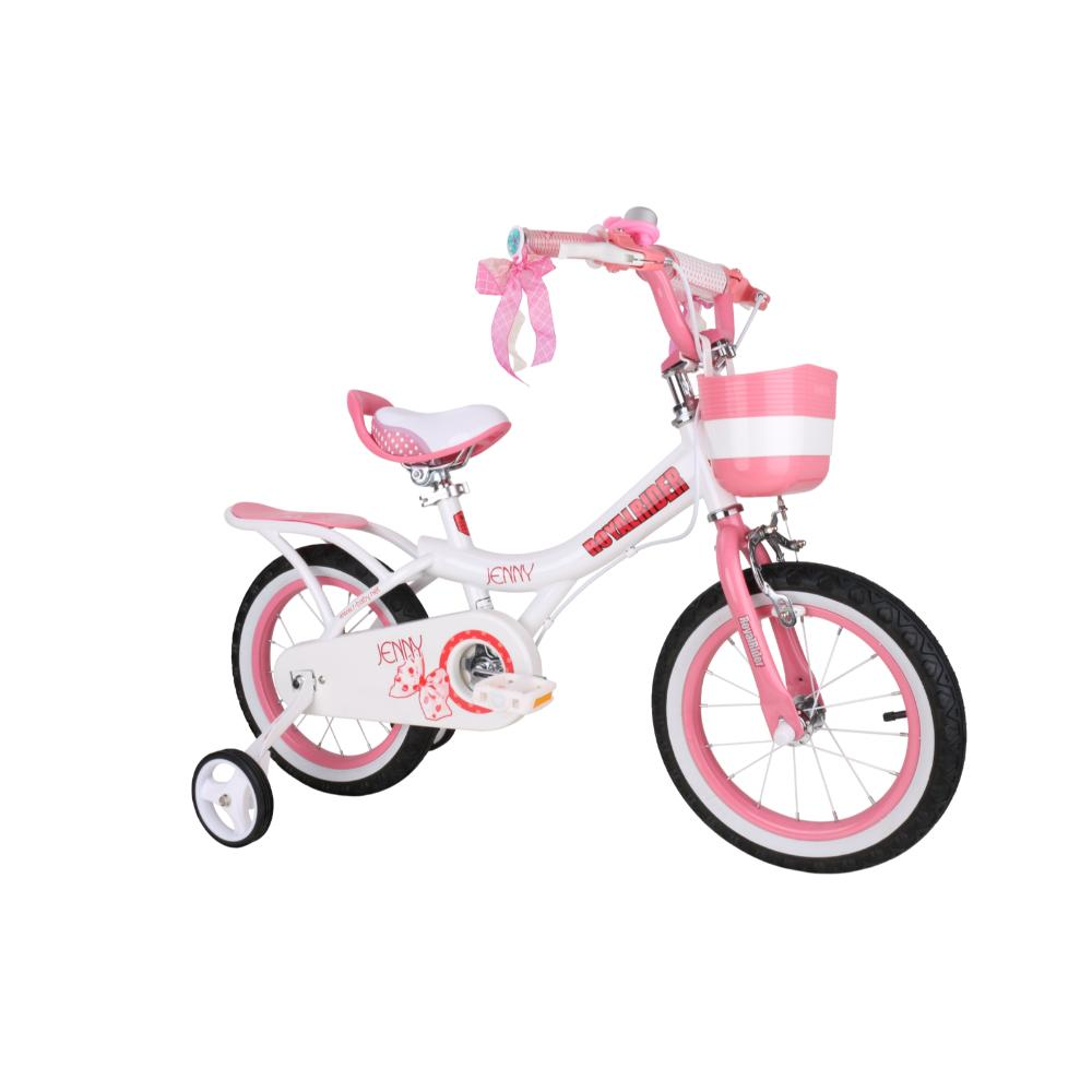 Royal Baby Jenny Bicycle 12In-White  Image#1