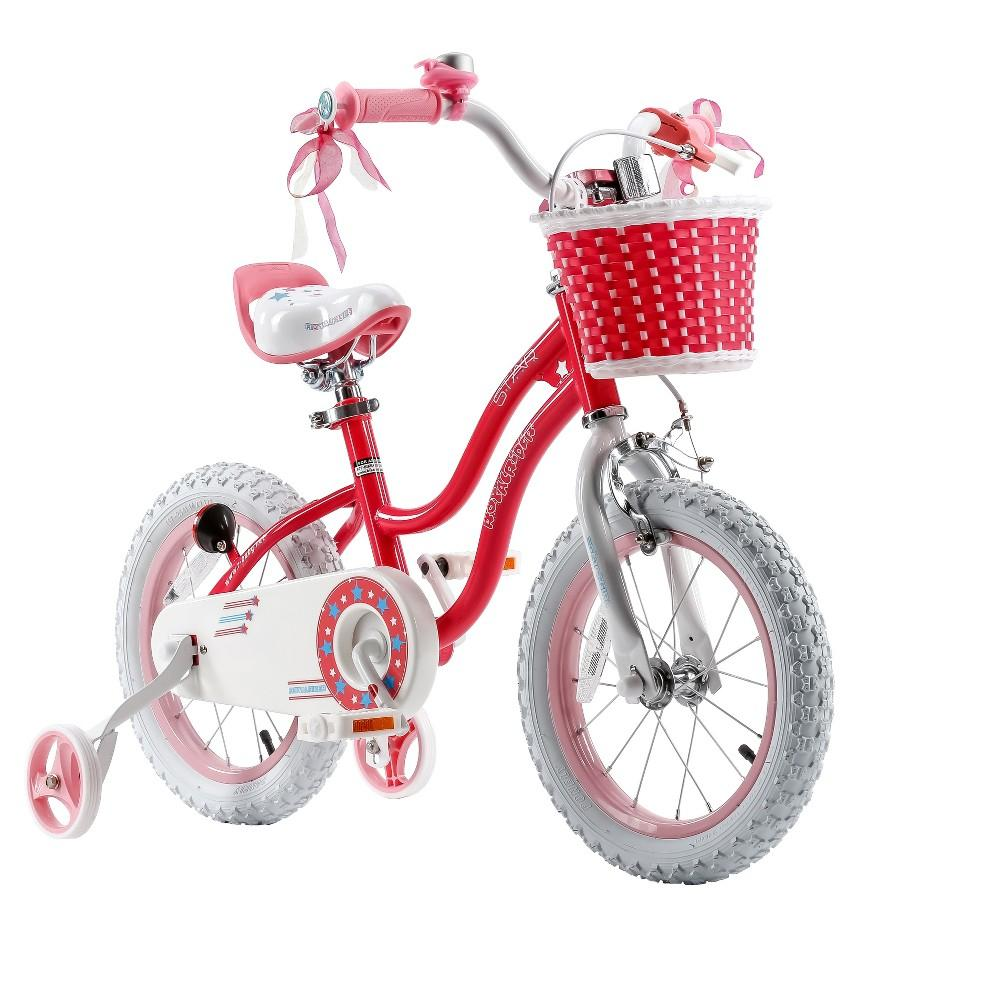Royal Baby Star Girl Bicycle 14In-Pink
