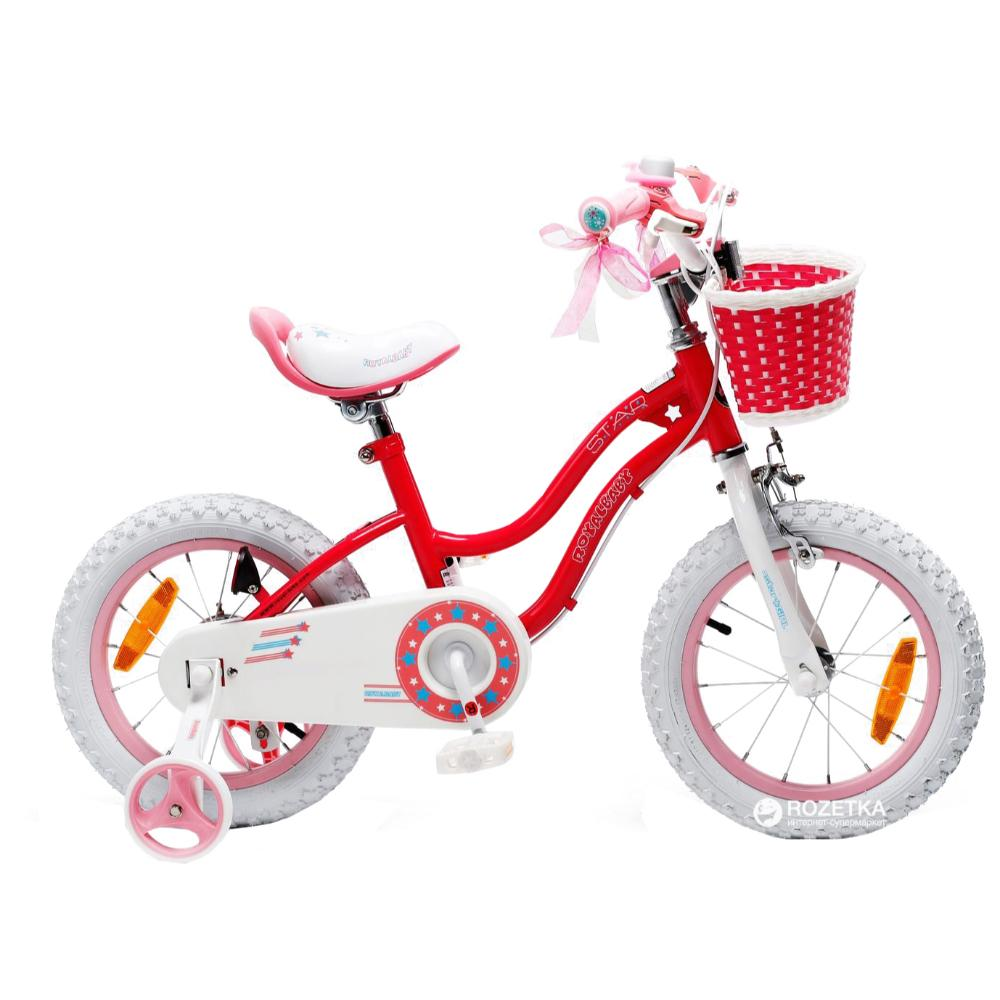 Royal Baby Star Girls Bicycle 16In-Pink