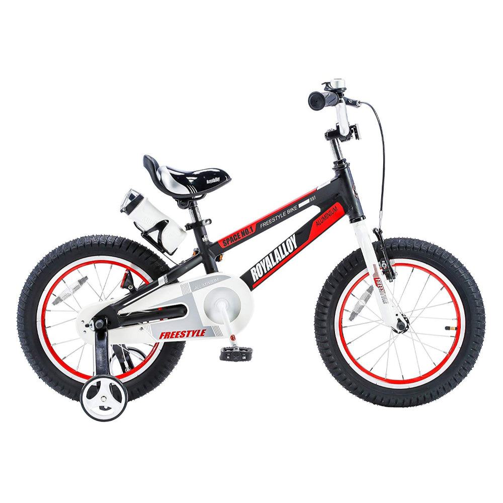"Royal Baby Space No.1 Alloy.Children Bicycle 12"" Red"