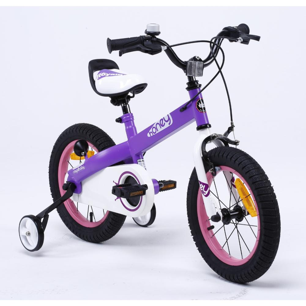 Royal Baby Honey Bicycle 14In-Purple