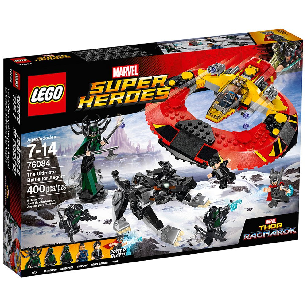 Lego The Ultimate Battle For Asgard (400 Pieces)