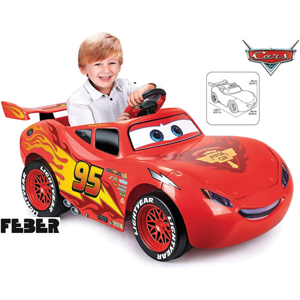 Feber Lightning Mcqueen 3 6V Ride-On Car