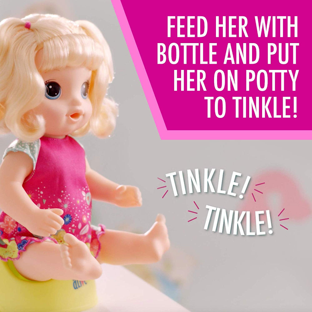 Baby Alive Potty Dance Baby Blonde  Image#3