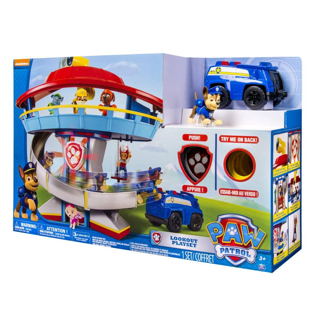 Paw Patrol Head Quarter Lookout Playset