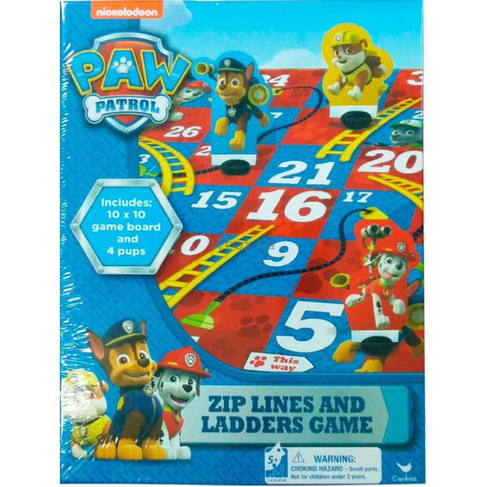 Paw Patrol Game  Zip Lines & Ladders