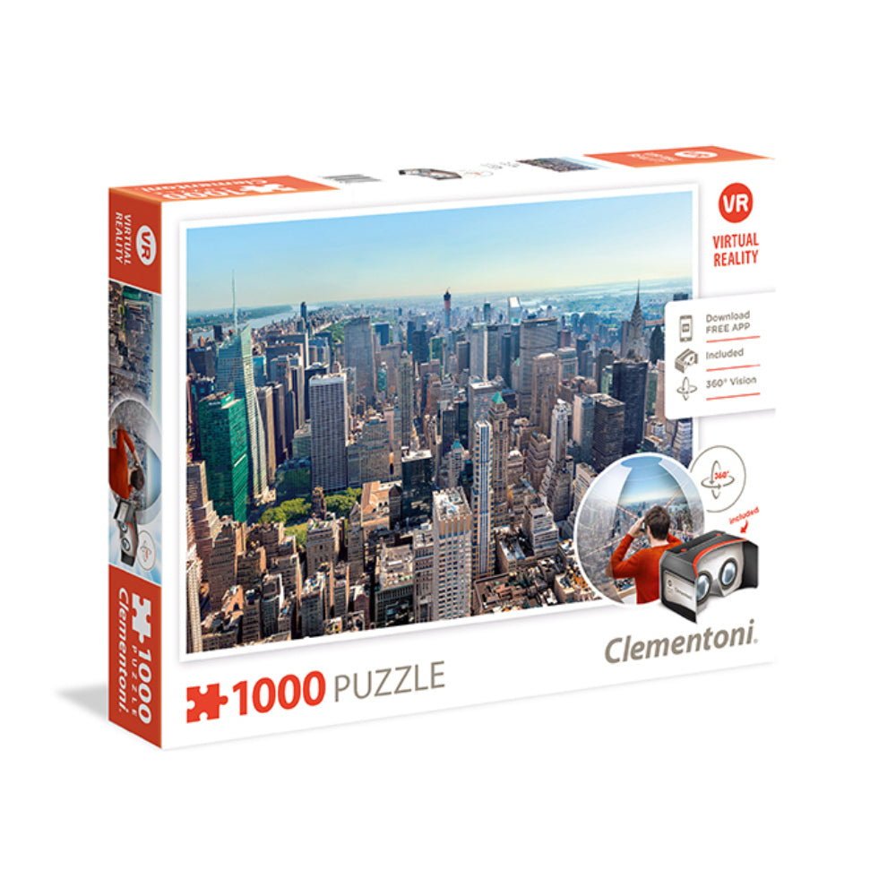 Clementoni Virtual Reality Puzzle New York 1000Pcs