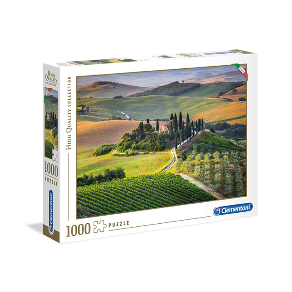 Clementoni Adult Puzzle Italian Collection Tuscany 1000Pcs