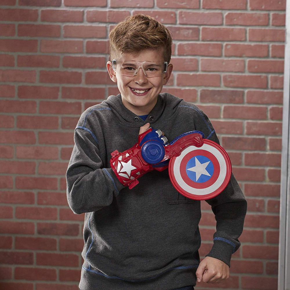 Nerf Avengers Power Moves Role Play Captain America  Image#3