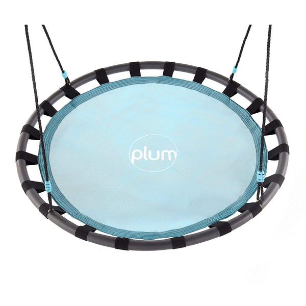 Plum Metal Nest Swing with Mist Feature