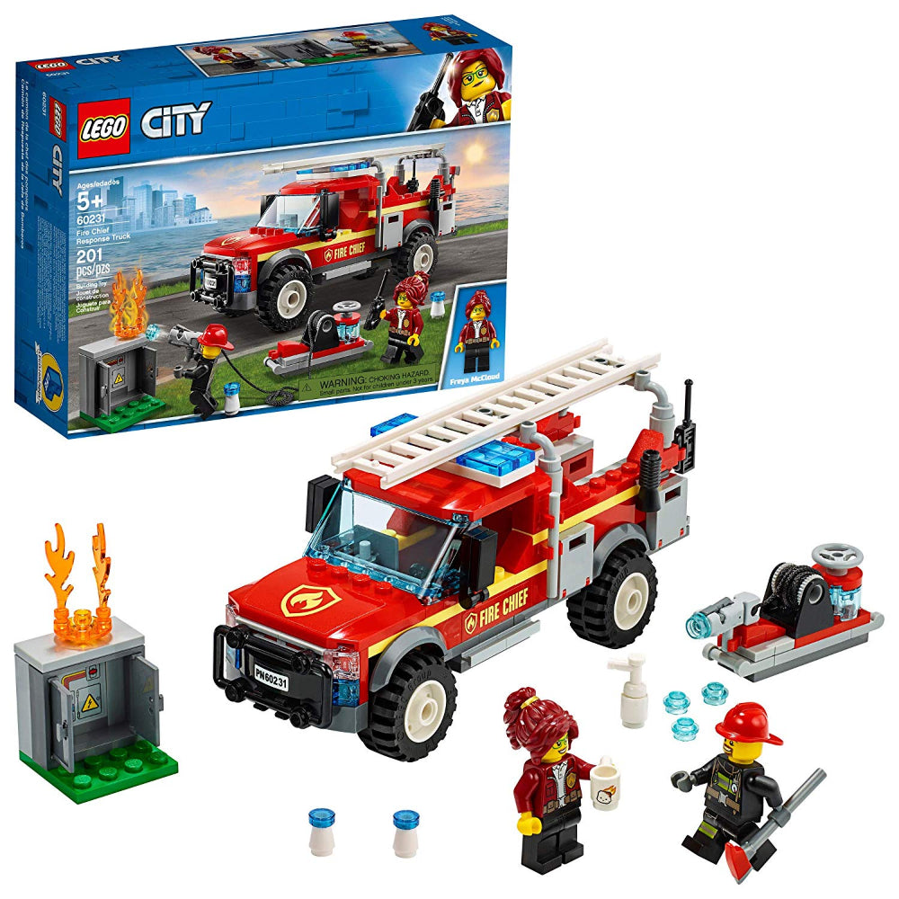 Lego City Fire Chief Response Truck (201 Pieces)