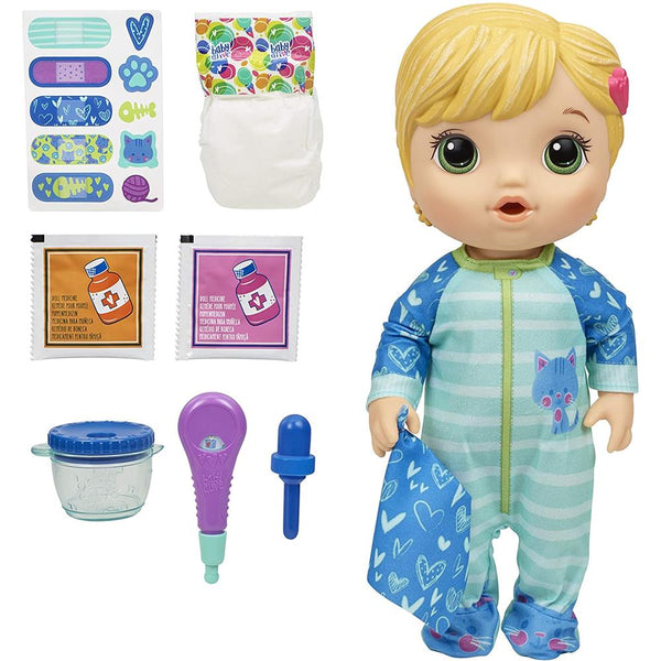 Baby Alive All Better Baby Doll - Blonde Hair