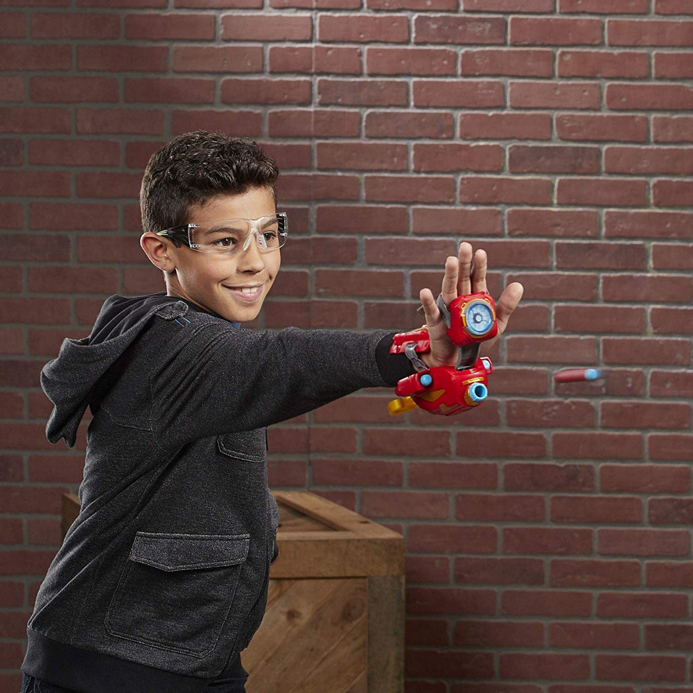 Nerf Avengers Power Moves Role Play Iron Man  Image#2