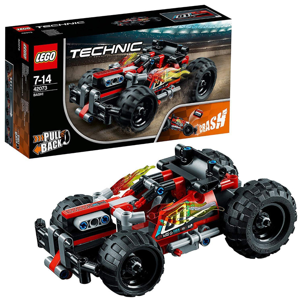 Lego Technic Bash Racing Car (139 Pieces)
