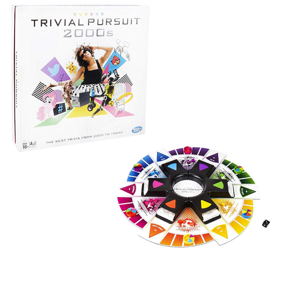 Hasbro Gaming Trivial Pursuit 2000S