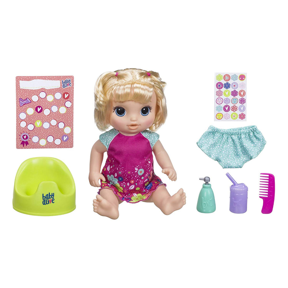 Baby Alive Potty Dance Baby Blonde  Image#1