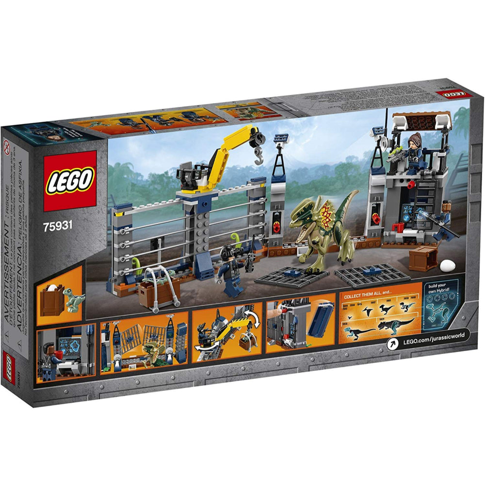 Lego Jurassic World Dilophosaurus Outpost Attack (289 Pieces)