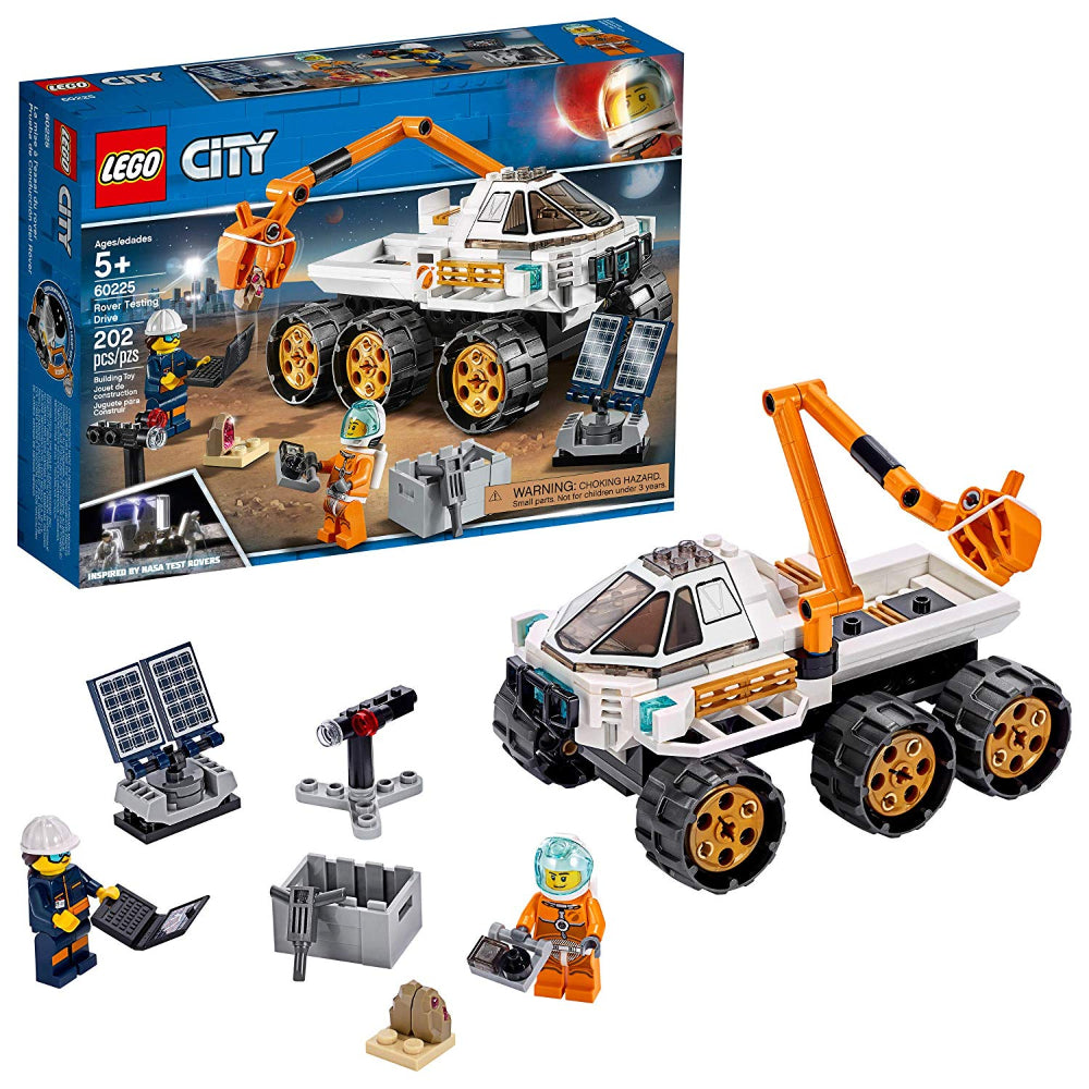 Lego City Rover Testing Drive (202 Pieces)