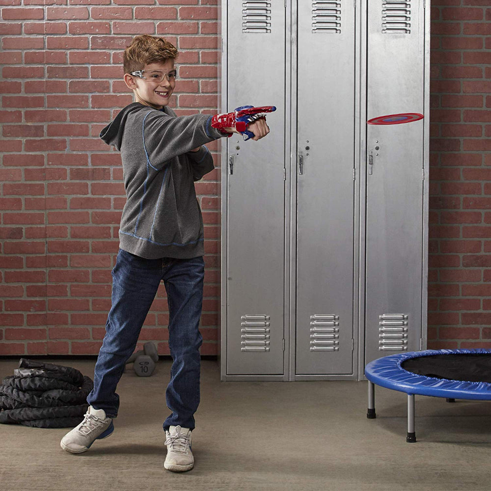Nerf Avengers Power Moves Role Play Captain America  Image#2