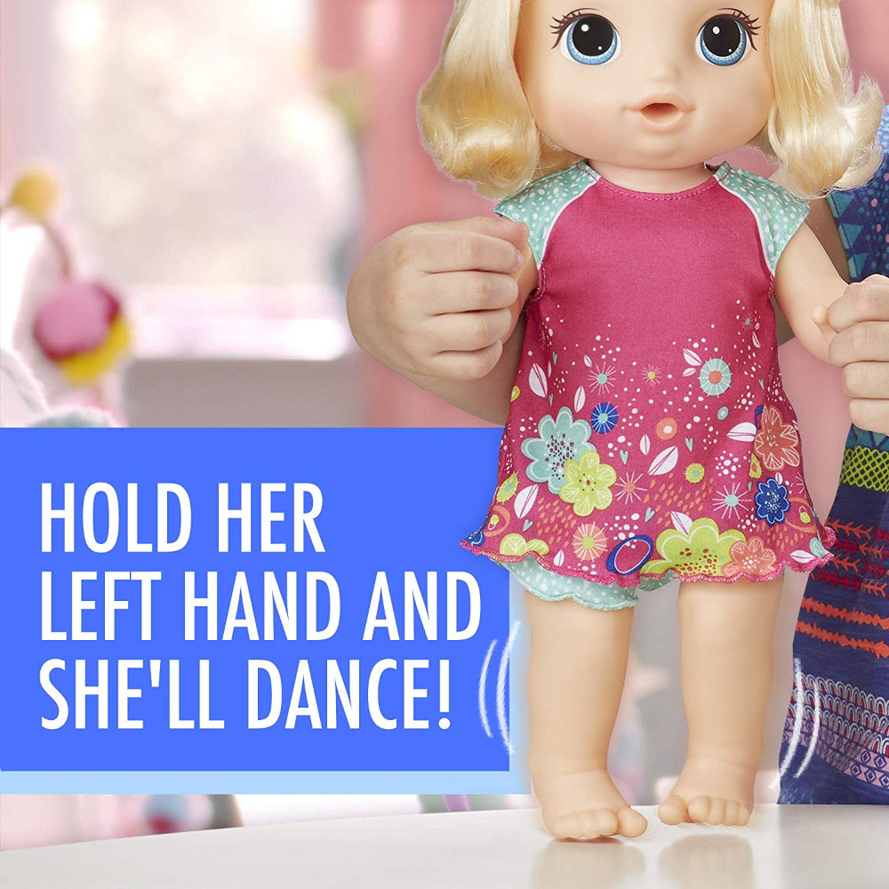 Baby Alive Potty Dance Baby Blonde  Image#5