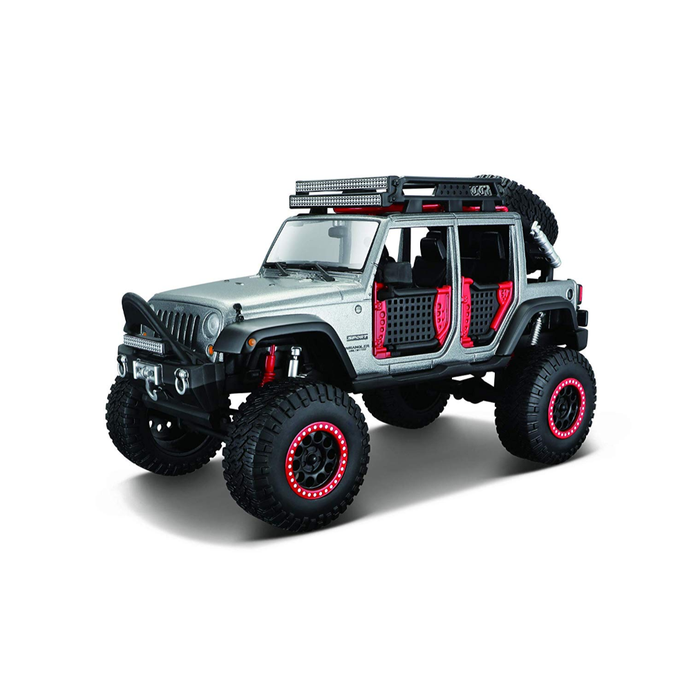 Maisto 1:24 Design Off-Road Kings Jeep Wrangler Unlimited