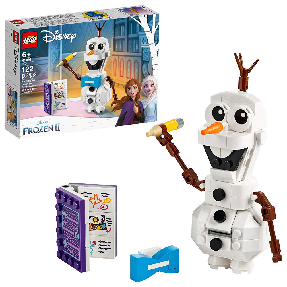 Lego Disney Frozen Olaf Snowman Figure (122 Pieces)  Image#1