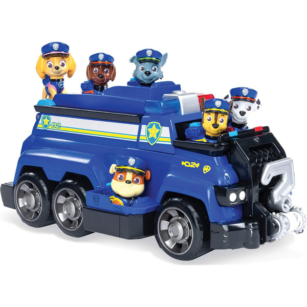 Paw Patrol Chase's Total Team Rescue Police Cruiser Vehicle
