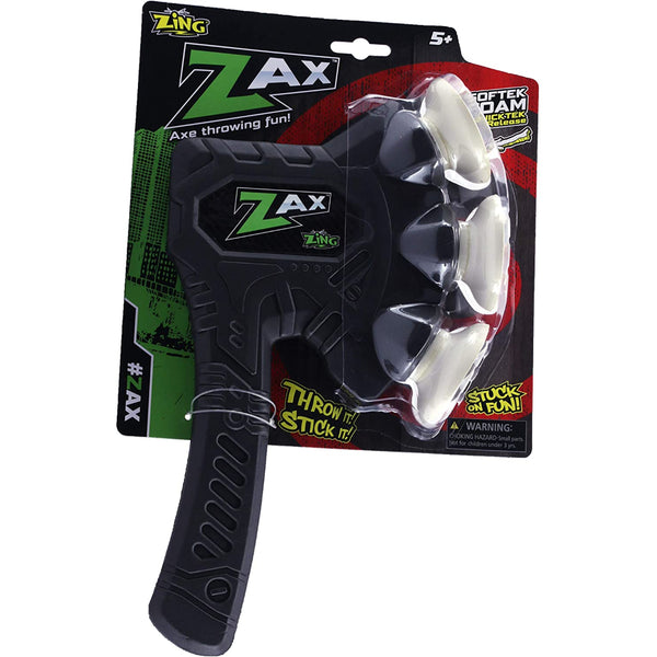 Zing Zax - The Foam Throwing Ax - Colors Vary