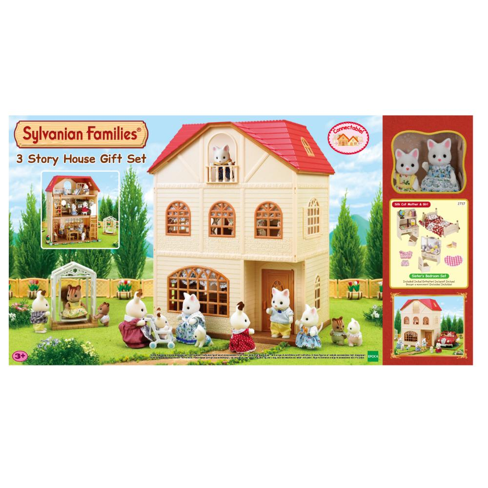Sylvanian Family 3 Story House Gift Set (A S