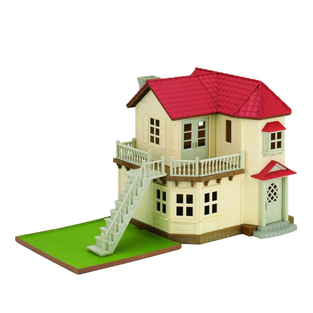 Sylvanian Families City House W/L1Ghts Gift H  Image#1