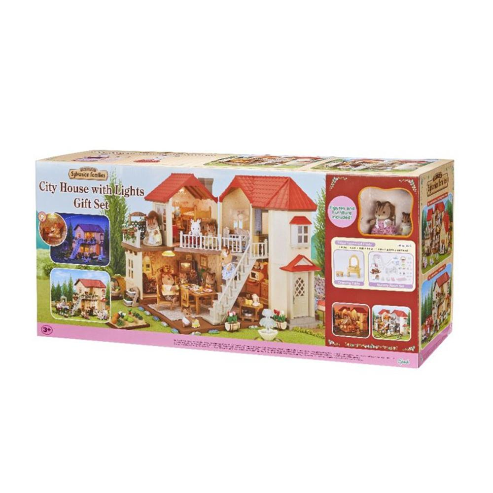 Sylvanian Family City House W/Lights Gift I