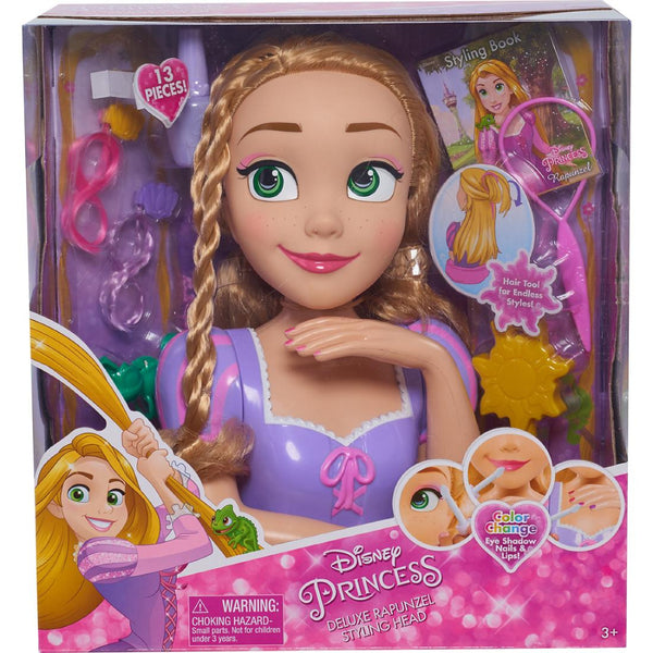 Disney Princess Deluxe Styling Head-Rapunzel