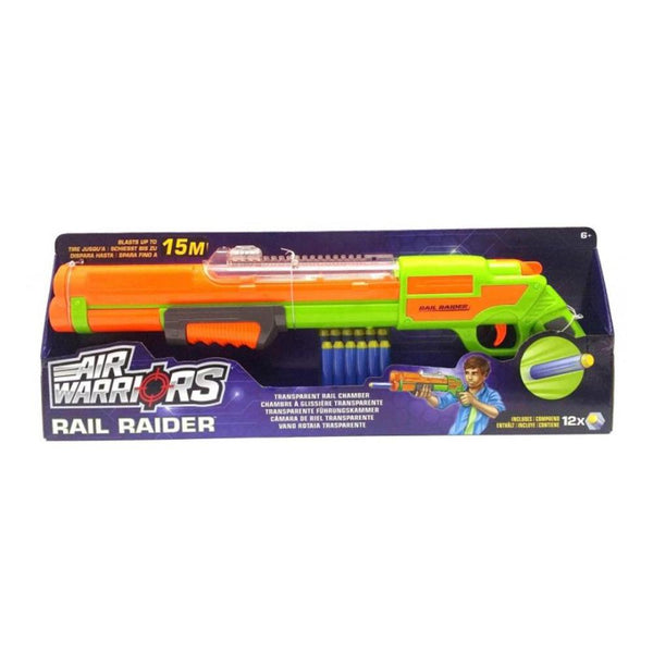 Air Warriors Rail Raider Blaster Toy Gun