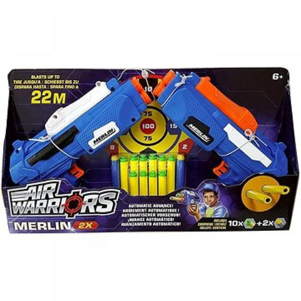 Air Warriors Buzz Bee Merlin 2 Pack