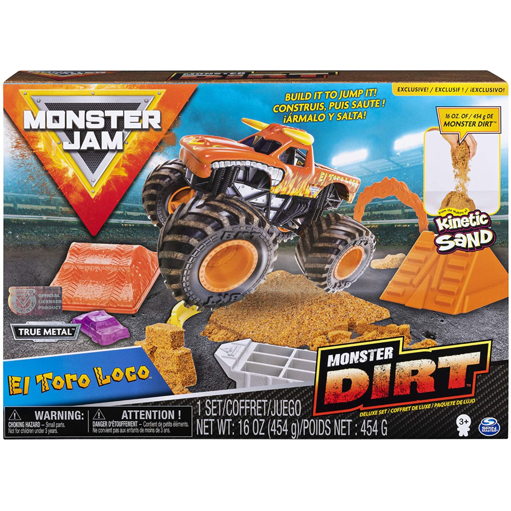 Monster Jam Kinetic Dirt Deluxe