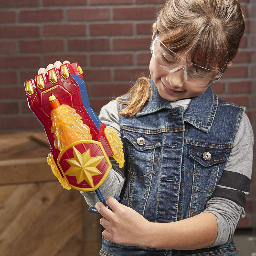 Nerf Avengers Power Moves Role Play Captain Marve  Image#3