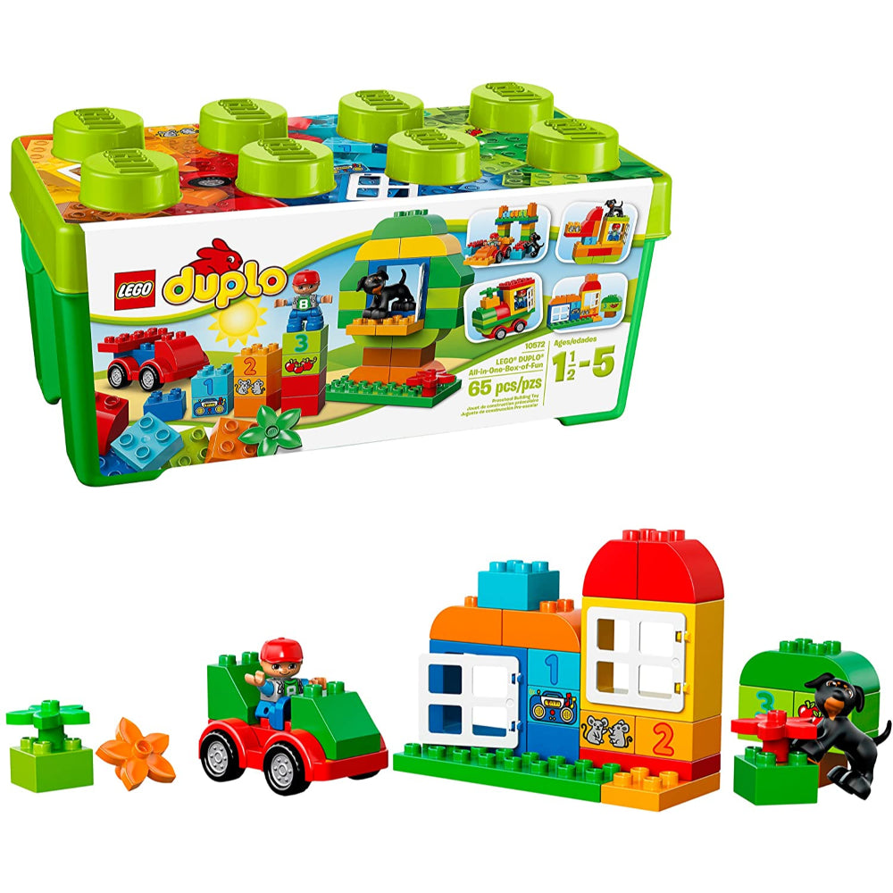Lego Duplo All In One Box Of Fun (65 Pieces)  Image#1