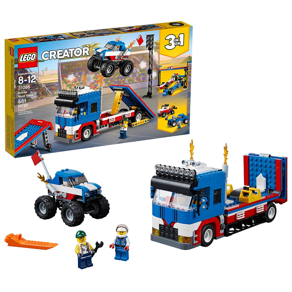 Lego Creator Mobile Stunt Show (581 Pieces)