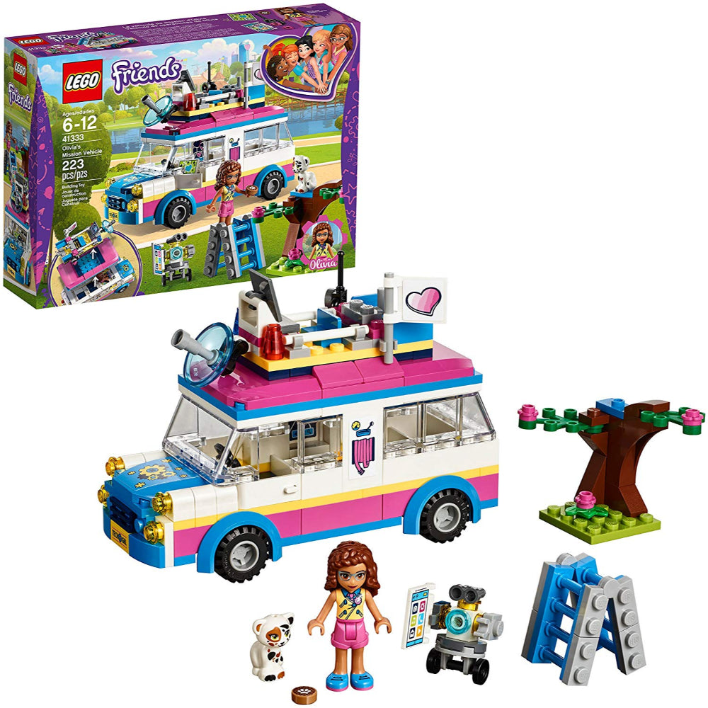 Lego Friends Olivia's Mission Vehicle (223 Pieces)