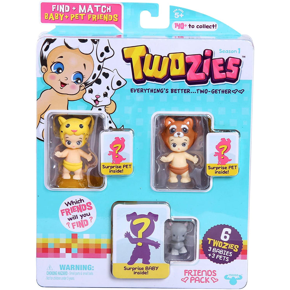 Twozies S1 Friends Pack