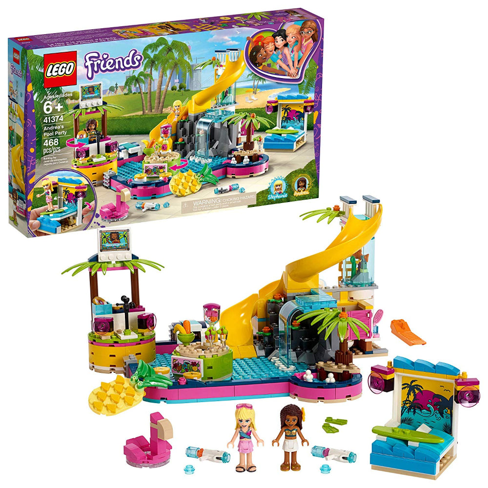 Lego Friends Andrea'S Pool Party (468 Pieces)