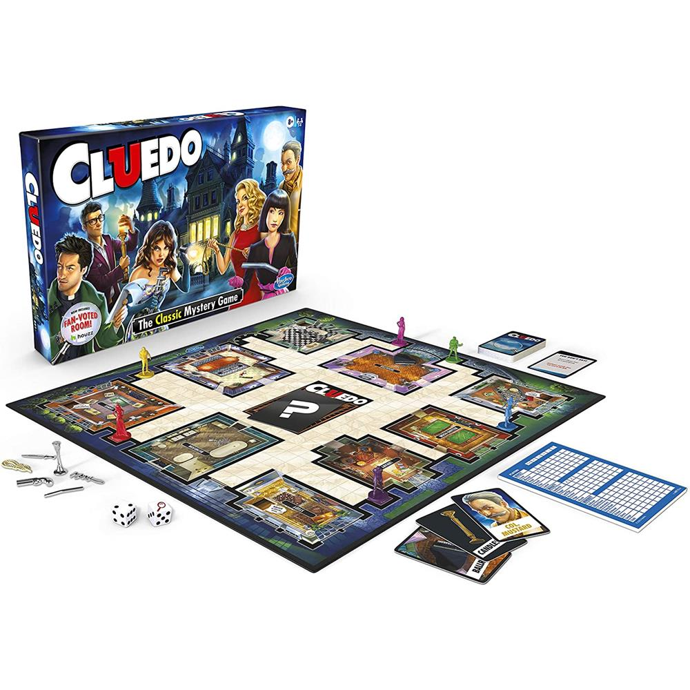 Clue Cluedo The Classic Mystery Game  Image#2